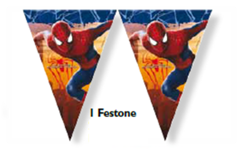 Festone spiderman
